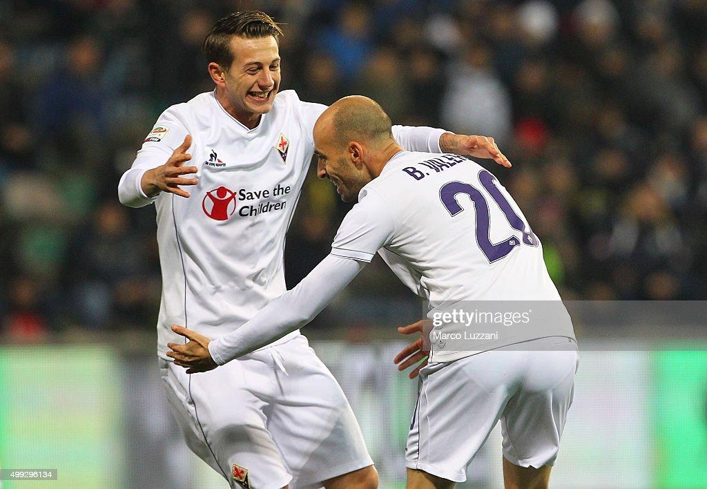 US Sassuolo Calcio v ACF Fiorentina - Serie A