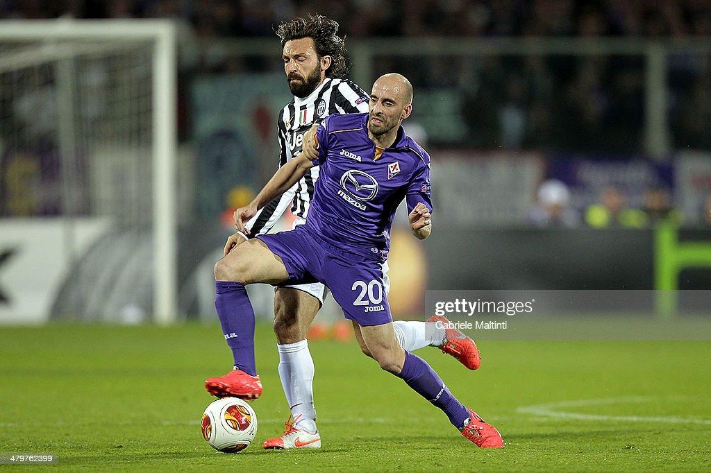 ACF Fiorentina v Juventus - UEFA Europa League Round of 16 : News Photo