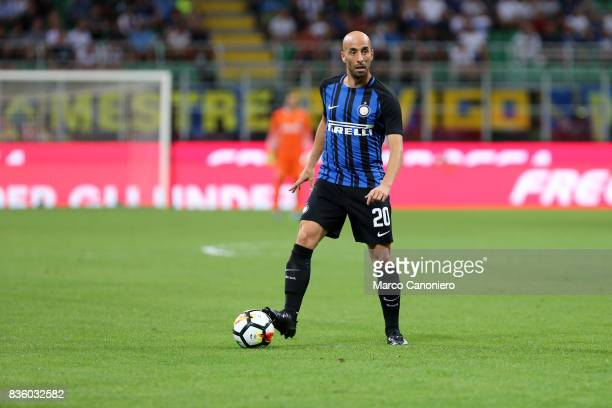Borja Valero of FC Internazionale in action during the Serie A match between FC Internazionale and ACF Fiorentina Internazionale Fc wins 30 over ACF...