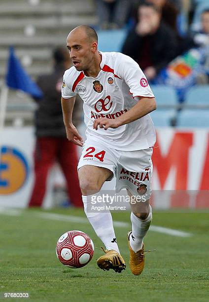 Borja Valero of Mallorca in action during the La Liga match between Getafe and Mallorca at Coliseum Alfonso Perez on March 13 2010 in Getafe Spain...