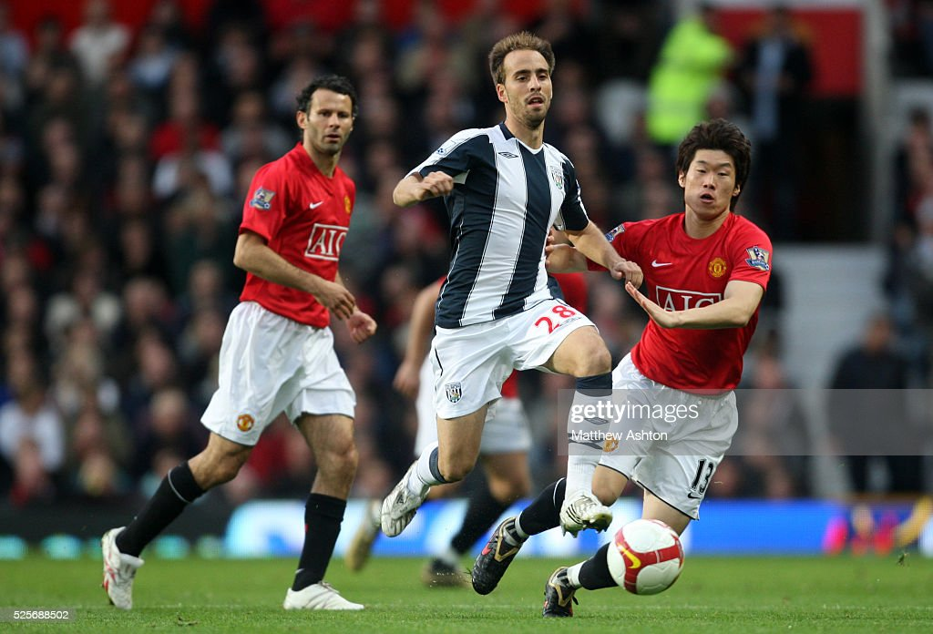 Soccer - Premier League - Manchester United vs. West Bromwich Albion : News Photo