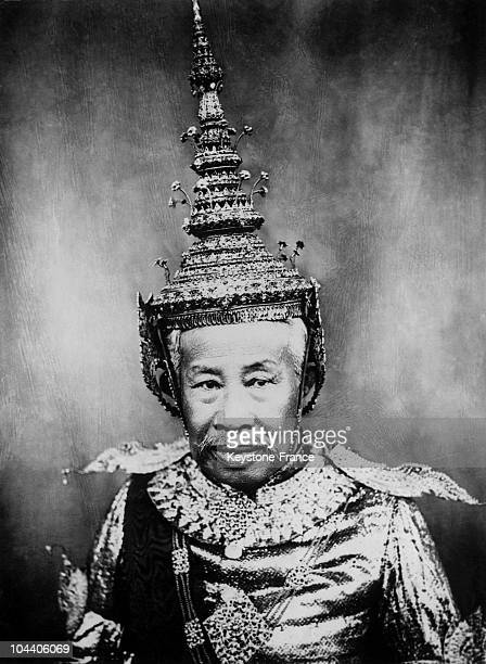 Born in August 1840 he succeeded his late brother NORODOM in 1904 He represents an ancient line the Kings of the Khmers which stretch back to about...