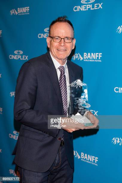 'Born This Way' Creator Jonathan Murray receives the Diversity Award at the Rockie Awards Gala Cermemony during the 2017 Banff Media Festival at the...