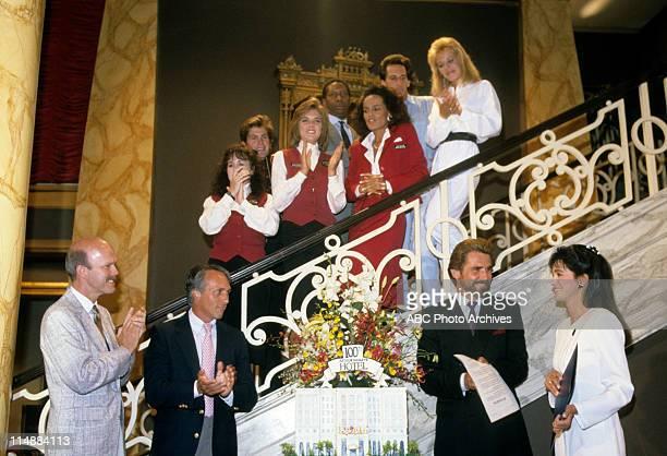 HOTEL Born To Run 100th Episode Celebration Airdate November 7 1987 TOM SWALE JAMES BROLINCONNIE SELLECCA STAIRCASE L