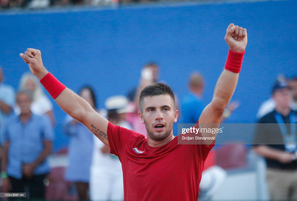 Croatia v USA - Davis Cup by BNP Paribas World Group Semi Final: Day Three : News Photo
