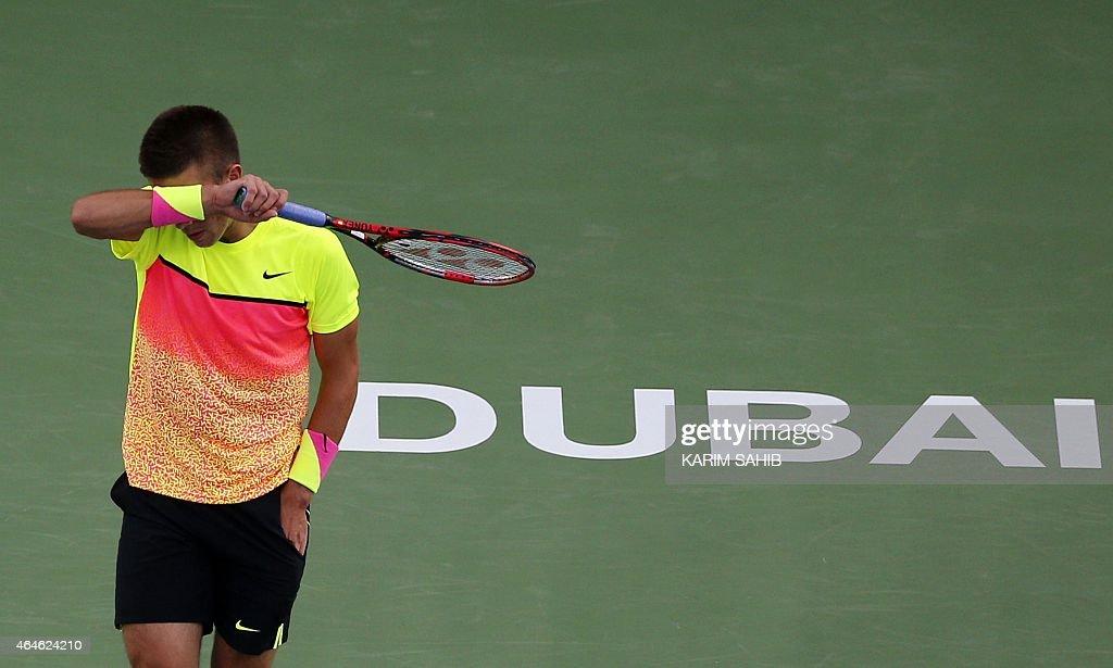 TENNIS-ATP-DUBAI : News Photo