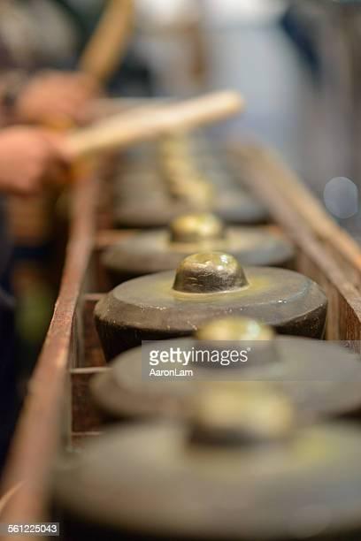 Borneo traditional musical instrument. Engkerumong