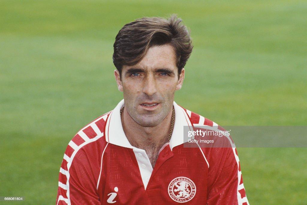 Bernie Slaven Middlesbrough 1990 : News Photo