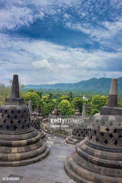 Borobudur Buddhist Temple, Java, Indonesia