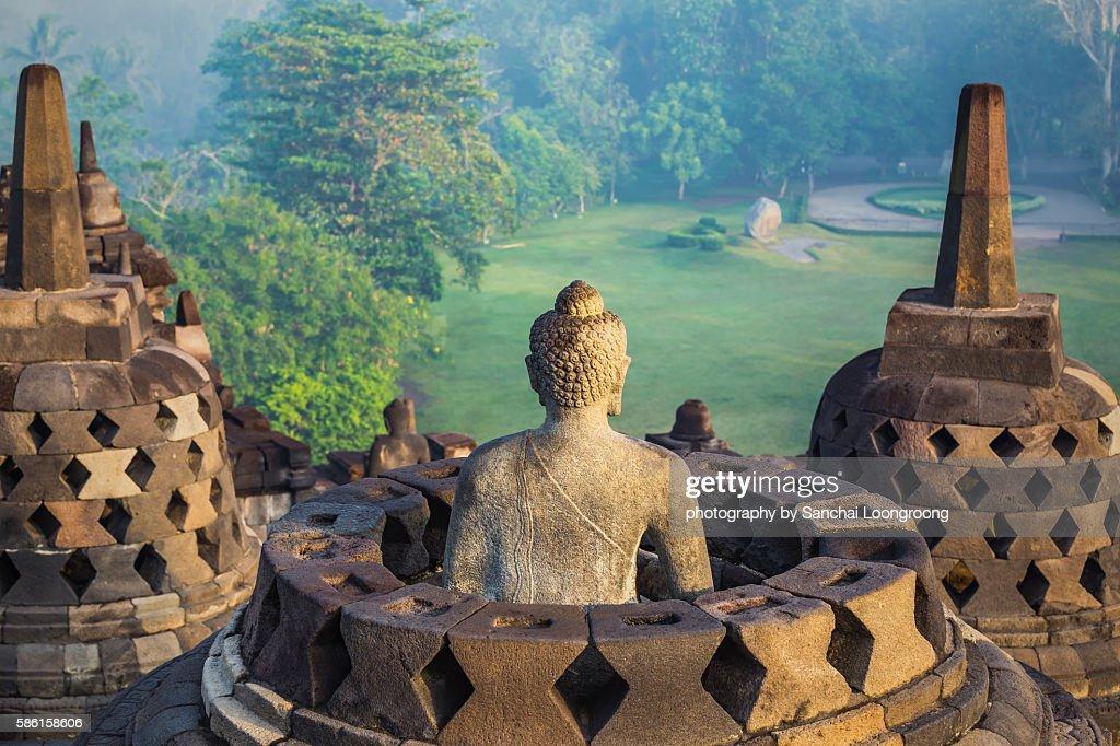 Borobudur Temple : ストックフォト