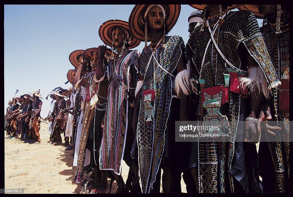 Bororo Peuls, Geerewol Feast In Niger In 1998 - : News Photo