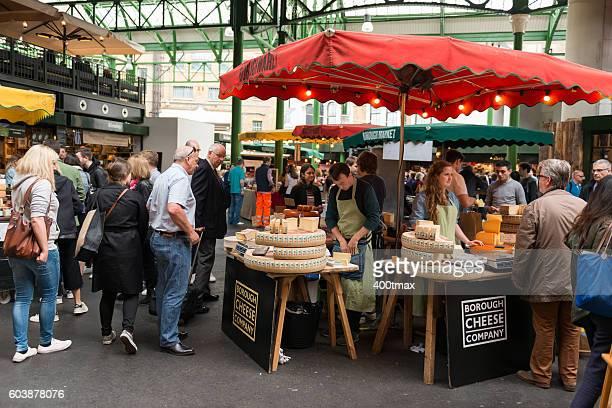 borough cheese - borough market - fotografias e filmes do acervo