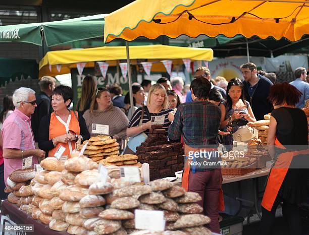 Borough Market bakery stall