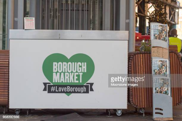 Borough Market in Southwark, London