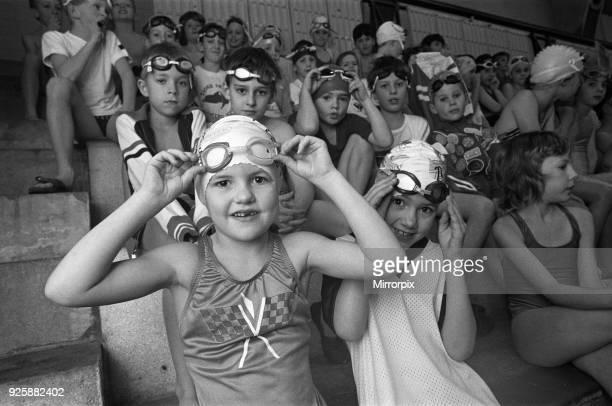 Borough of Kirklees Tiger Sharks swimming gala at Cambridge Road Baths 30th November 1991
