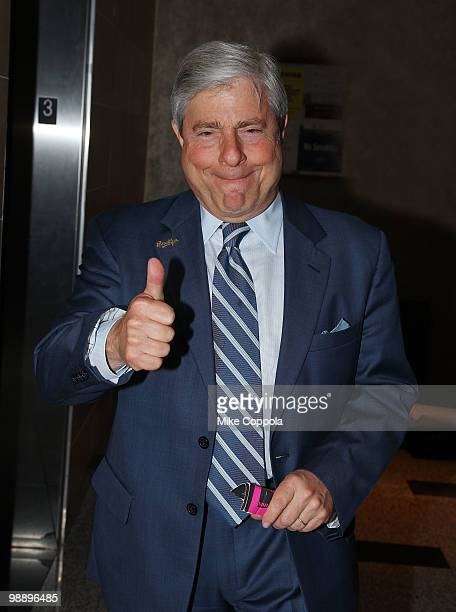 Borough President of Brooklyn Marty Markowitz attends The American Cancer Society's 2010 Pink and Black Tie Gala at Steiner Studios on May 6, 2010 in...