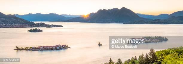 Borromean Islands, Stresa, Lake Maggiore, Verbano-Cusio-Ossola, Piedmont, Italy.