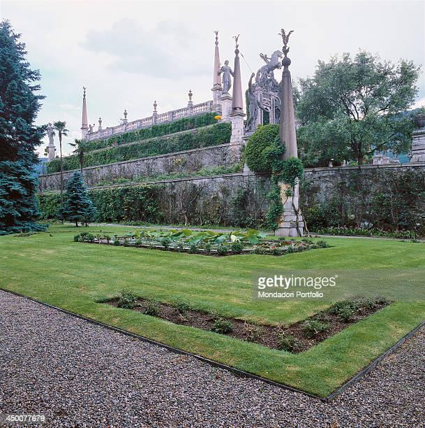 Borromeo Gardens on Isola Bella 17th Century