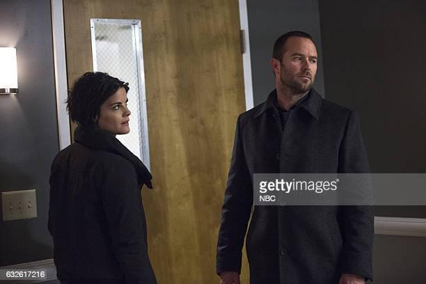 BLINDSPOT Borrow Or Rob Episode 214 Pictured Jaimie Alexander as Jane Doe Sullivan Stapleton as Kurt Weller