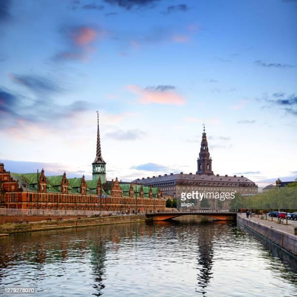 ボルセンビル(コペンハーゲン) - クリスチャンスボー城 ストックフォトと画像