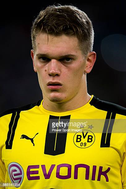 Borussia Dortmund defender Matthias Ginter during the match against Manchester City FC during their 2016 International Champions Cup China match at...