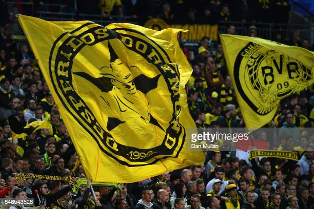 Borussia Dortmund Flag Stock Pictures Royalty Free Photos Images Getty Images