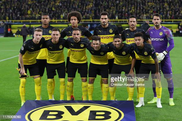 94 039 Borussia Dortmund Champions League Team Photos And Premium High Res Pictures Getty Images