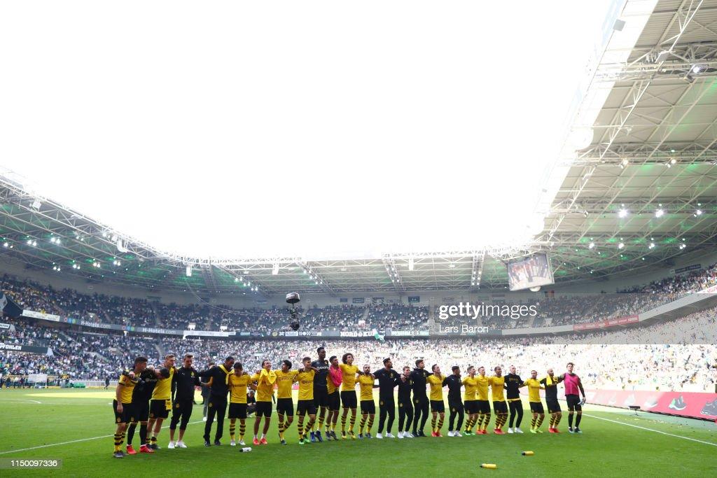 DEU: Borussia Moenchengladbach v Borussia Dortmund - Bundesliga