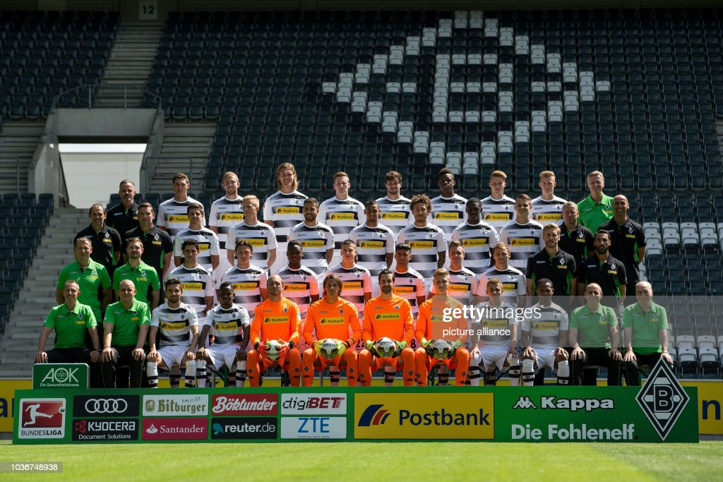 51cb90b9e Borussia Moenchengladbach players are together photo shoot for the 2016 17  season in the Borussia