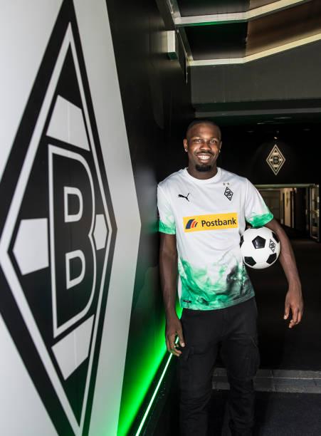 DEU: Borussia Moenchengladbach Unveils New Signing Marcus Thuram