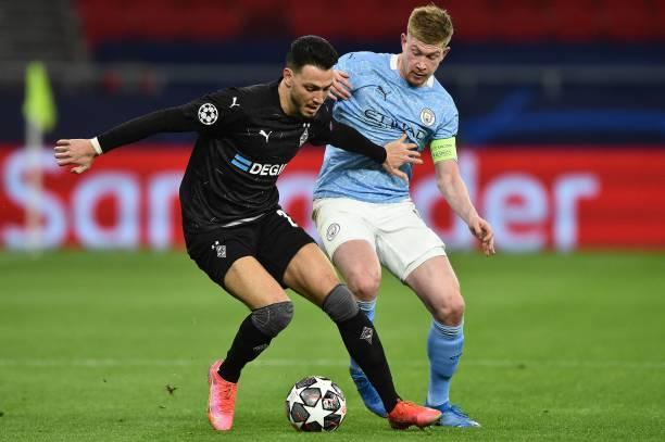 HUN: Manchester City v Borussia Moenchengladbach - UEFA Champions League Round Of 16 Leg Two