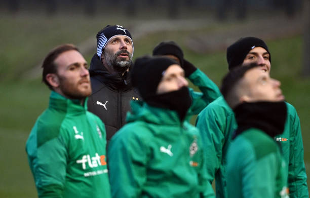 DEU: Borussia Moenchengladbach v FC Internazionale: Group B - UEFA Champions League