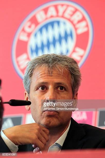 Borussia-Trainer Lucien Favre besucht nach dem Bundesliga Spiel zwischen dem FC Bayern Muenchen und Borussia Moenchengladbach am in der Muenchner...