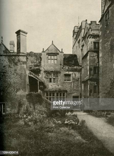 Borwick Hall from the NorthWest' 1928 Borwick Hall in Lancashire is a 16th century manor house Illustration originally published in 'The Domestic...