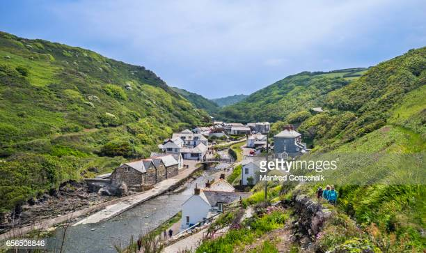 Boscastle and  River Valency valley Cornwall