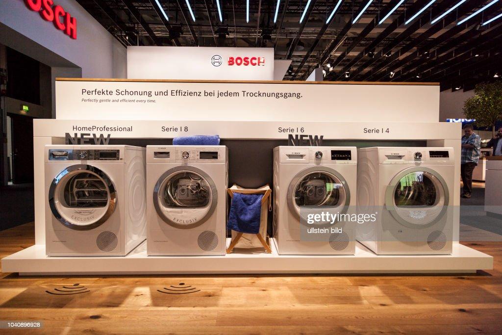Bosch Waschmaschine Auf Der Ifa 2017 In Berlin News Photo Getty Images