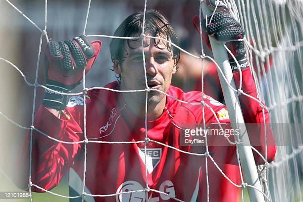Bosco of the new Brazilian champions FC Sao Paulo