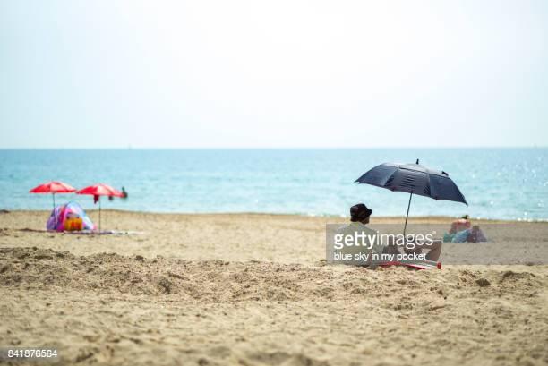 boscombe beach, dorset, uk - ボスコム ストックフォトと画像