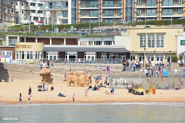 boscombe 海のフロント - ボスコム ストックフォトと画像