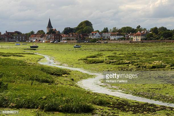 bosham on chichester harbour - chichester stock pictures, royalty-free photos & images