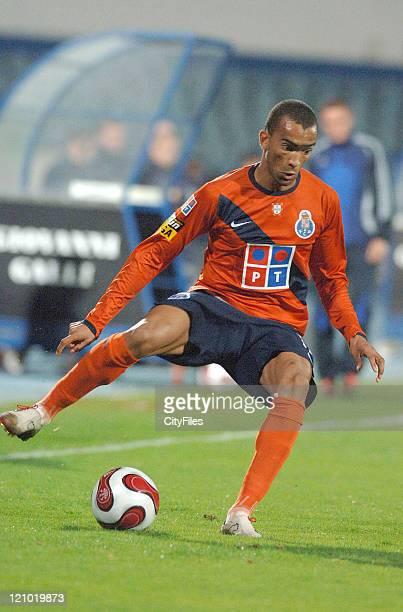 Bosingwa during Portuguese Bwin League Belenenses vs Porto November 26 2006 at Belenenses in Lisbon Portugal