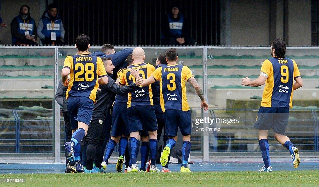 Hellas Verona FC v AS Roma - Serie A : News Photo