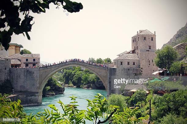 Bosnia and Herzegovina, Mostar, Arch bridge