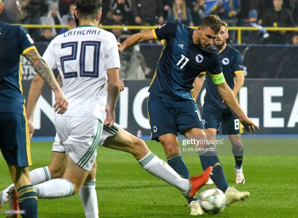 FBL-EUR-NATIONS-BIH-NIR : News Photo