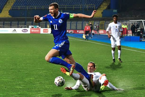 BIH: Bosnia and Herzegovina v France - FIFA World Cup 2022 Qatar Qualifier