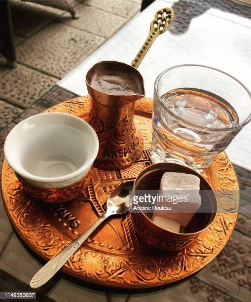 bosnian coffee - sarajevo stock pictures, royalty-free photos & images