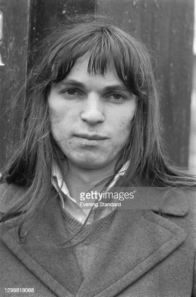 Bosnian conceptual artist Braco Dimitrijevic, UK, 11th April 1972.