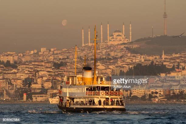 Bosphorus ferry,Istanbul,Turkey