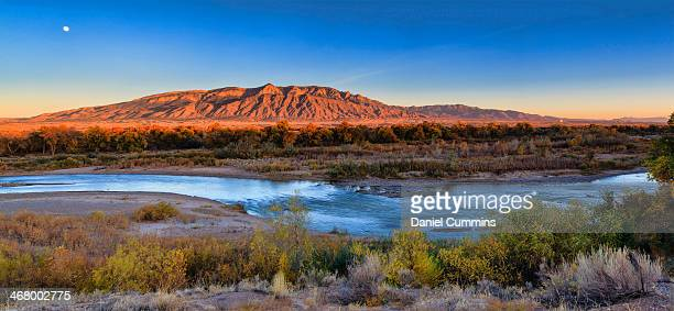 bosque fall in corrales - rio rancho stock pictures, royalty-free photos & images