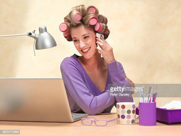 boss of small business working from home - gossip stock pictures, royalty-free photos & images